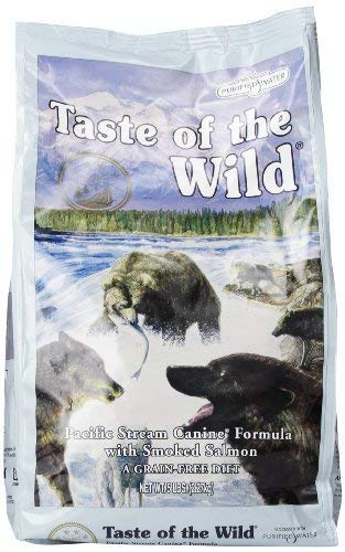 Taste of the Wild Pacific Stream Canine - Smoked Salmon - 5 lb (Taste Of The Wild Salmon Dog Food)
