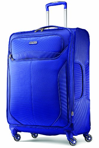 - Samsonite Luggage Lif Two Spinner 25 Suitcases, Blue, One Size