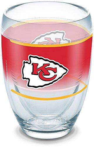 Tervis 1292823 NFL Kansas City Chiefs Original Tumbler, 9 oz, Clear