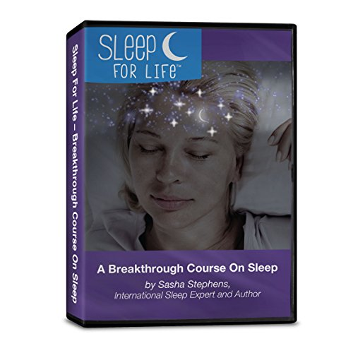 Sleep For Life - Sleep Foundation Course, Home Audio Program, Full Set Of Brain-Soothing Sleep Tools for Sleeping Naturally and Permanent Solution To Chronic Insomnia - Insomnia Self-Help Kit