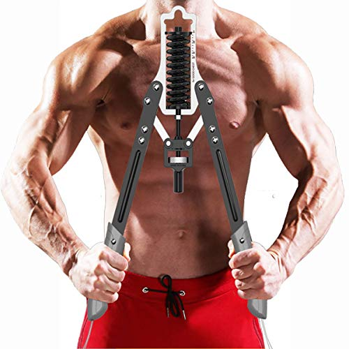 Shapelocker Power Twister Arm Forearm Exerciser Bicep Blaster Chest Expander with Adjustable Resistance for Arm, Biceps, Abdomen, Shoulder and Chest Muscle Strength Training Max to 75 Kgs