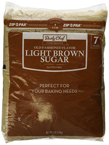 Bakers & Chefs Light Brown Sugar - 7 lb. (Baker Light)