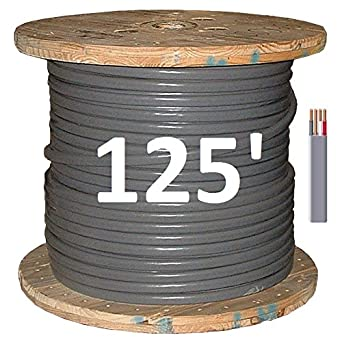 8/3 UF/B (Underground Feeder - Direct Earth Burial) Cable: Amazon ...