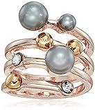 T Tahari Pearl Wrap Rose Gold Ring, Size 7