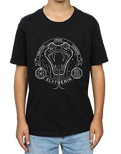 Boy Nera di T Seal Harry Potter shirt Serpeverde wwv7XqP