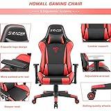 Homall Racing Gaming Chair Ergonomic High-Back