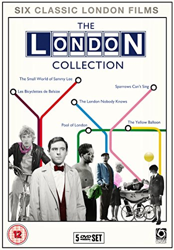 THE LONDON COLLECTION (Small World of Sammy Lee / Sparrows Can't Sing / The London Nobody Knows / The Bicyclettes of Belsize / Pool of London / The Yellow Balloon) Region 2 - PAL -  DVD, Bonar Colleano, Bonar Colleano