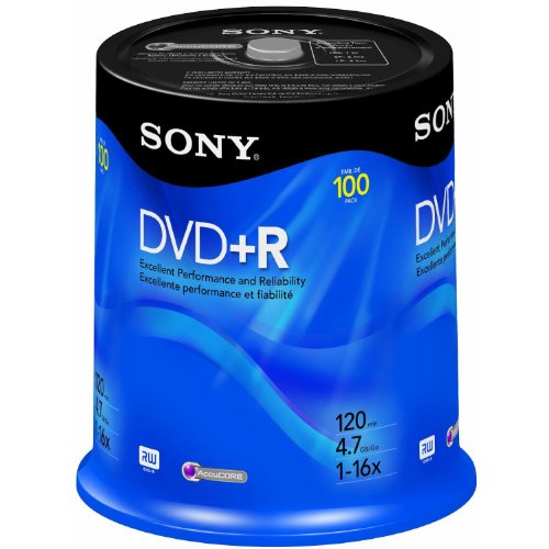 Sony DVD+R 4.7 GB Printable Recordable DVD