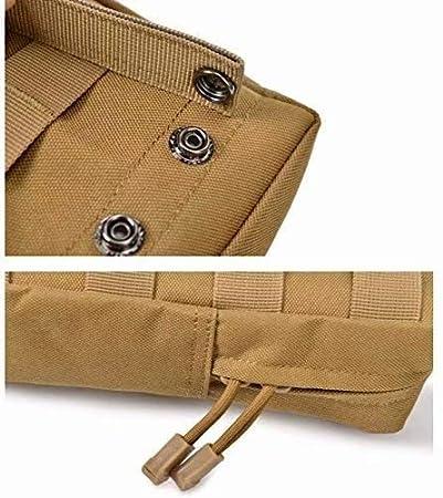 Waymeduo Bolsa de Cintura Hombre,11X5X20CM
