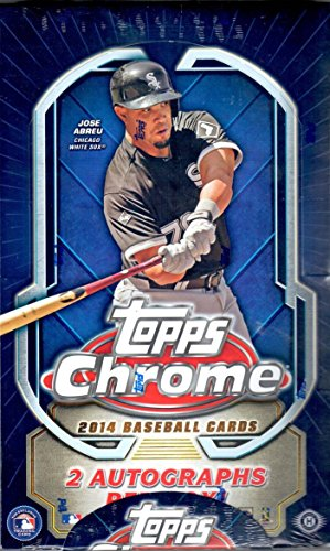 1-One-Box-2014-Topps-Chrome-Baseball-Hobby-Box-24-Packs-per-Box-Possible-Masahiro-Tanaka-Jose-Abreu-George-Springer-Kolten-Wong-andor-Xander-Bogaerts-Rookie-Cards