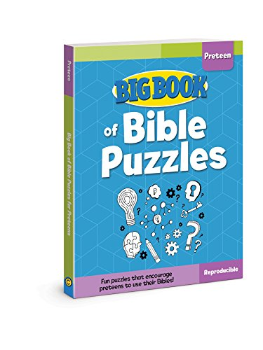Big Book of Bible Puzzles for Preteens (Big Books) from David C Cook