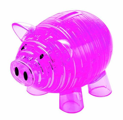 Crystal Bank (Original 3D Crystal Puzzle - Deluxe Piggy Bank)