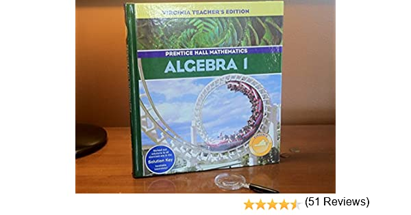 Algebra 1, Teacher's Edition (Prentice Hall Mathematics): Allan ...