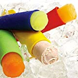 9E Mart Silicone Ice Pop Maker Molds Set Of 6