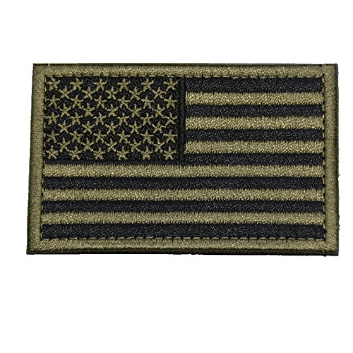 Tactical Morale Patch USA Flag )