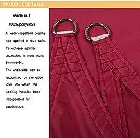 WAFWYY - Toldo rectangular impermeable con protección solar ...