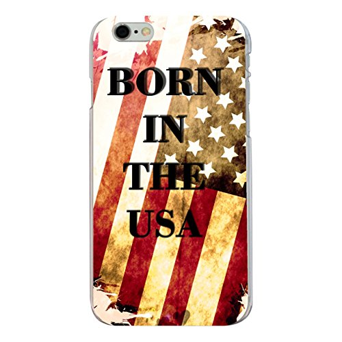 "Disagu Design Case Coque pour Apple iPhone 6s Plus Housse etui coque pochette ""BORN IN THE USA"""