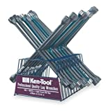 Ken-Tool (35648) Lug Wrench Assortment with Rack, 10 Piece