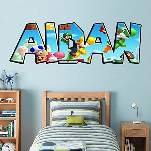 Super Mario Bros Wall Stickers   3