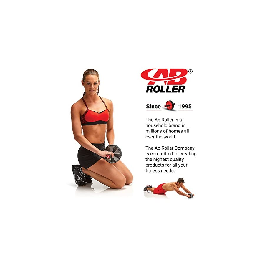 Ab Roller Elite Wheel with Knee Pad Abdominal Roller Wheel for Core Strength Training Workout Exercise Machine for Abs Abdominal Exercise Wheel