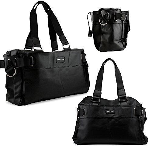 oct17-black-fashion-women-handbag-shoulder-bags-tote-purse-faux-leather-lady-messenger-hobo-bag