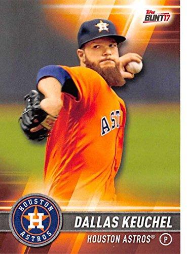 2017 Topps Bunt #54 Dallas Keuchel Houston Astros Baseball Card