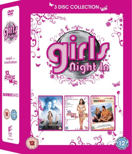 Girls Night In: Maid in Manhattan / 13 Going on 30 / 50 First Dates [Import anglais]