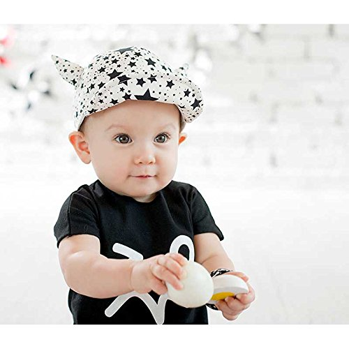 Marca west Unisex Baby Kid Child Toddler Safari Baseball - Import It All 4c4f373d9763
