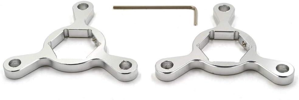 R/égleurs de pr/écharge de fourche de moto en aluminium CNC de haute qualit/é universels adapt/és /à toutes les motos avec calibre 22mm damortisseur