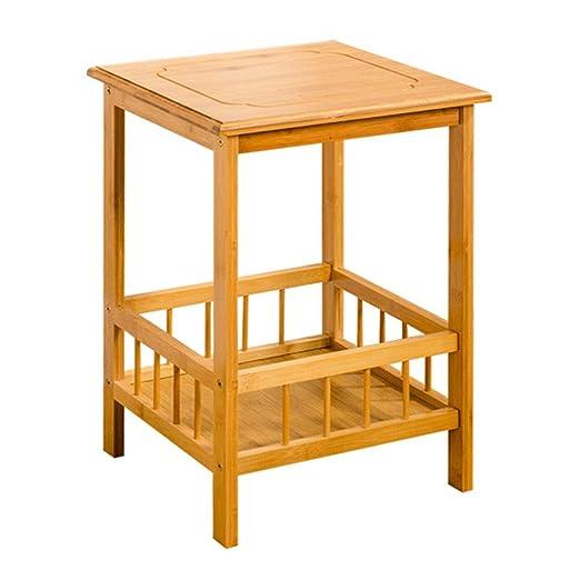 TXC- Pequeña Mesa de café, Muebles de bambú, Sala de Estar, balcón ...