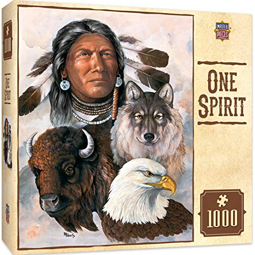 MasterPieces Tribal Spirit 550 Puzzles Collection – One Spirit 550 Piece Jigsaw Puzzle