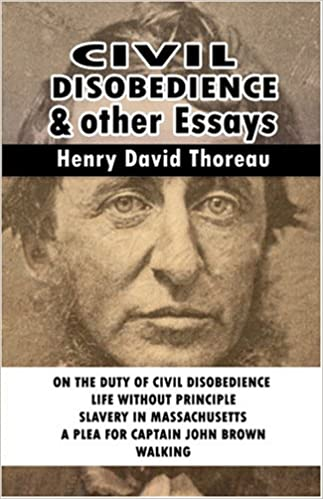 com civil disobedience and other essays  com civil disobedience and other essays 9789562910682 henry david thoreau books