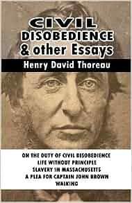 David essay henry thoreau