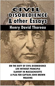 com civil disobedience and other essays  civil disobedience and other essays