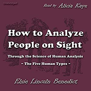 How to Analyze People on Sight Audiobook