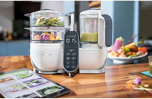 Babymoov Nutribaby procesador de alimentos - Loft blanco: Amazon ...