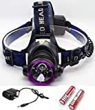 Supreme Popular 3-Mode LED 2000 Lumens Headlamp Rechargeable - Best Reviews Guide