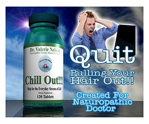 Chill Out ~ B complexe pour Support surrénalienne, Stress & anxiété - utilisé par les Patients du docteur en naturopathie