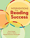 img - for Interventions for Reading Success book / textbook / text book