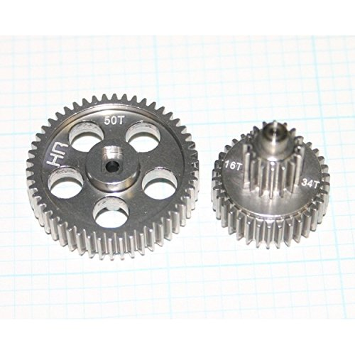 Crawler Micro Rock - Hot Racing MRC1000T Hard Anodizing Alum. Center Gear set