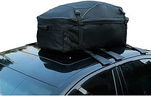 Roof Top Cargo Rack Carrier Soft Waterproof Family Luggage Travel For Van Auto