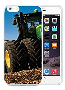 Hot Sale iPhone 6 Plus/iPhone 6S Plus 5.5 TPU Inch Case ,john deere White iPhone 6 Plus/iPhone 6S Plus Cover Unique And High Quality Designed Phone Case