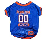NCAA Dog Jersey, Small, University of Florida Gators
