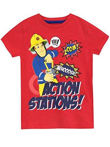 Fireman Sam Boys' Fireman Sam T-shirt