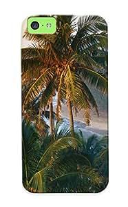 New Na Pali Coast, Kauai, Hawaii Tpu Case Cover, Anti-scratch Exultantor Phone Case For Iphone 5c