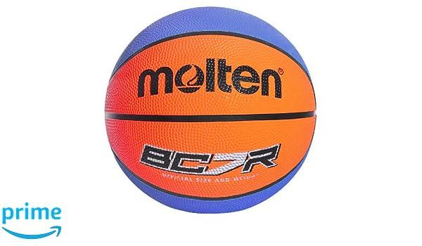 MOLTEN 8 Panel Balón de Baloncesto de Goma, Unisex Adulto, Azul ...