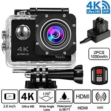 Sports Action Camera 4k Action Cam Wifi Ultra Full Hd Amazon De