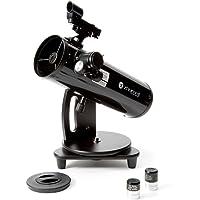 Zhumell Z100 Portable Altazimuth Reflector Telescope