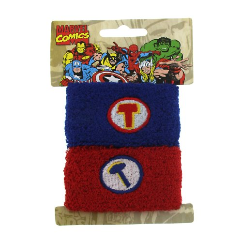 New Series Marvel Comics Thor Arm Sweat Bands Hair Ponytail Wrap