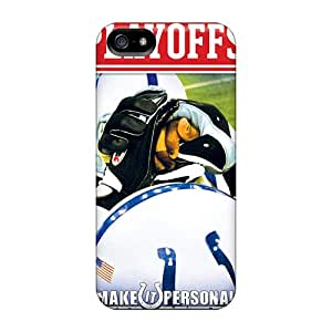 Premium Indianapolis Colts Heavy-duty Protection Cases For Iphone 5/5s